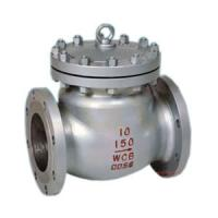 China Cast Steel Flanged Swing Check Valve Non - Return 8 Inch 150 RF A216 WCB on sale