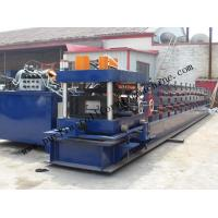 Hydraulic PLC Control Purlin Roll Forming Machine , Z Purlin Making Machine Manufactures