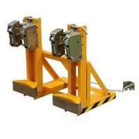 Loading Capacity 1000Kg Drum Clamp Attachment Bandage-type Double Protection Manufactures