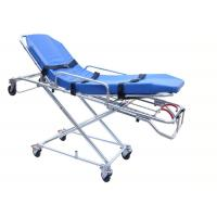 FDA / CE / ISO Automatic Loading Ambulance Stretcher High Strength Aluminum Alloy Manufactures
