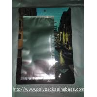 Clothes Self Sealing Aluminium Foil Pouches , Resealable Foil Bags For Underwear Manufactures