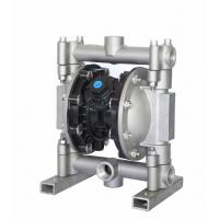 Cast Steel Air Driven Double Diaphragm Pump With Safety Compressed Air Manufactures