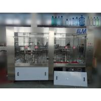 3 In 1 Automatic Water Filling Machine , Electric PET Bottled Water Production Line Manufactures