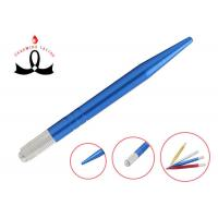 Quality Semi Permanent Makeup Tools Manual Eyebrow Embroidery Pen with four colors for for sale