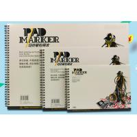 Quality Artist painting pad , the marker pad , A3 / A4 / A5 , low permeation marker pad for sale