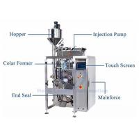 Liquid Pouch Vertical Form Fill Seal Baggers 100ml To 500ml Low Power Consumption Manufactures