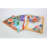 Custom Gloss Artpaper Postcard Book Printing Services , Foil Stamping Embossing Manufactures