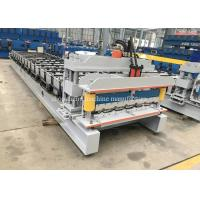 Casstte Type Steel Glazed Tile Roll Forming Machine With Hydraulic Control System Manufactures