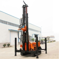 Buy cheap 200m Deep Crawler Down The Hole Mobile Borehole Water Well Drilling Rig Machine from wholesalers