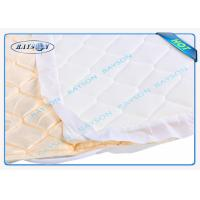White / Black / Blue Color Good Strength PP Spunbond Non Woven Fabric for Mattress Quilting and Spring Cover Manufactures