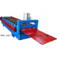 Metal Trapezoidal Cold Roll Forming Machine / Roofing Panel Roll Forming Equipment Manufactures