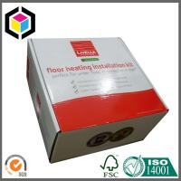 Glossy UV Varnish Surface Corrugated Cardboard Packaging Box for Shipping Manufactures