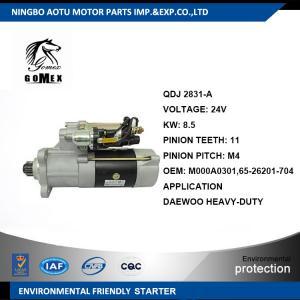 Heavy Duty Truck Parts Parts D2366 Diesel Engine Starter Motor M000A0301,65.26201-704 Manufactures