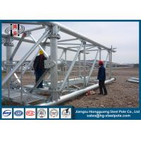 Q345B / A572Electrial Substation Steel Structures with Standard GB / T Manufactures