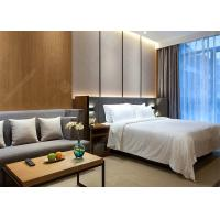 Modern Laminate Hotel Bedroom Furniture Sets Optional Size Plywood MDF Materials Manufactures