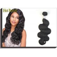 Unprocessed One Donor Peruvian Body Wave Hair Extensions 10 Inch - 30 Inch Manufactures