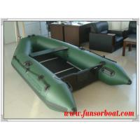 Sport PVC Boat with Plywood Floor, Army green color (Length:2.3m) Manufactures