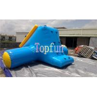 Quality Inflatable Water Slide OEM With Artwork Logo / Amusement Water Park Games For Kids for sale
