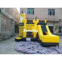 5 * 5 * 4.5 m Colorful Inflatable Combo Bouncers Jumping Castle With En 14960 Manufactures