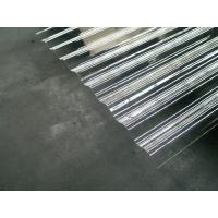 Customized Clear Corrugated Polycarbonate Roof Panel Bayer / GE Material Manufactures