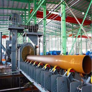 Anti Corrosive 8000m3/H Pipe Blasting Equipment Manufactures