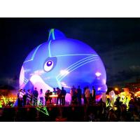 16 Feet Inflatable Tiger Whale Inflatable Dolphin Inflatable Tuna Lights Manufactures