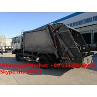 Quality Factory sale bottom price dongfeng 10m3 compression garbage truck refuse garbage for sale