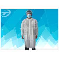 Waterproof Protective Medical Disposable Visitor Coats PE With Different Size Manufactures