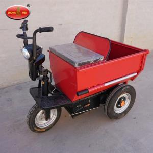 Dumper Truck For Sale  / Electric Hand / Hydraulic  Unloading/Mini Transporter  Track Dumper Manufactures