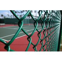 ot Dipped Galvanized Chain Link Fence With 35-300G per Square Meter Zinc Coating; PVC Coated Chain Link Fence Manufactures