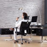 China High Back Ergonomic Conference Chair With Aviation Aluminum And Nylon Material on sale