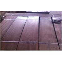 Quality Dark Brown Walnut Wood Flooring Veneer Sheet 0.5mm - 2.0mm Thickness for sale