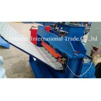 Corrugated Sheet Automatic Pneumatic Crimping Machine With Double Cylinder Cutting Manufactures