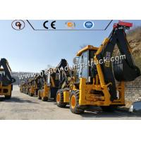 Hydraulic 4x4 Heavy Construction Equipment 1 Ton Wheel Backhole Loader Manufactures