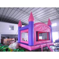 Mini Inflatable Bouncer , House Inflatable Jumping Bed For Kid Manufactures