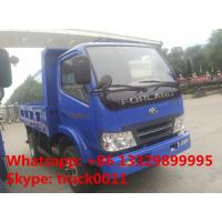 Forland 4 4*2 5tons small dump truck , cheapest price China brand 2016s new forland brand LHD/RHD dump tipper trucks Manufactures