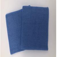Healthy Blue Color Surgical Medical Gauze Swab / Wound Care Sponges 100% Cotton Manufactures