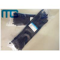 UV Resistant Locking Cable Ties Natural Nylon Cable Ties With Length Custom Manufactures