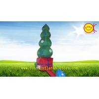 Commercial Grade Giant Nice Printing Inflatable Christmas Tree , OEM Holiday Inflatables Manufactures