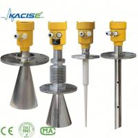 China Low cost dielectric liquid distance measurement instruments flanged guided wave radar level sensor on sale