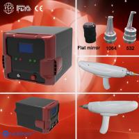 1064nm/532nm portable home laser tattoo removal machine for tattoo removal Manufactures
