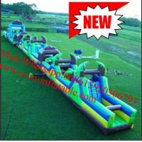 Huge Fire Retardant Inflatable Obstacle Course For Adults And Children Manufactures
