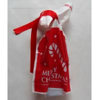 Quality Recyclable drawstring plastic  Cotton Ropes  bags/Women and children all like the New Year red gift bag for sale