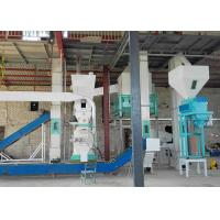 Small Wood Pellet Manufacturing Plant 500kg/H For Biomass Fuel Pellets Production Manufactures