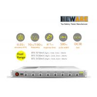 Neware dual range battery testing system for mA(coin cell) Manufactures