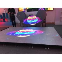 Buy cheap Show Stage Special Design P6.25 Interactive Led Floor Support Video Full Color Display Screen from wholesalers