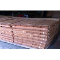 Quality Sliced Cut Wood Flooring Veneer Sheet , Teak Wood Veneering 0.5 mm for sale