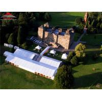 600 People Outside Wedding Tents / Outdoor Wedding Reception Marquee Manufactures