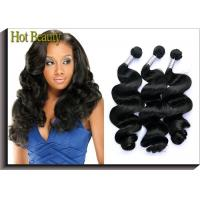 Hot Beauty Peruvian Natural Wave Virgin Human Hair Extensions For Women Manufactures