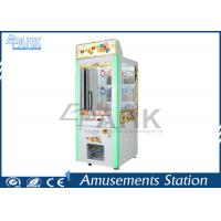 Amusement Crane Key Master Game Machine / Toy Vending Machine Manufactures